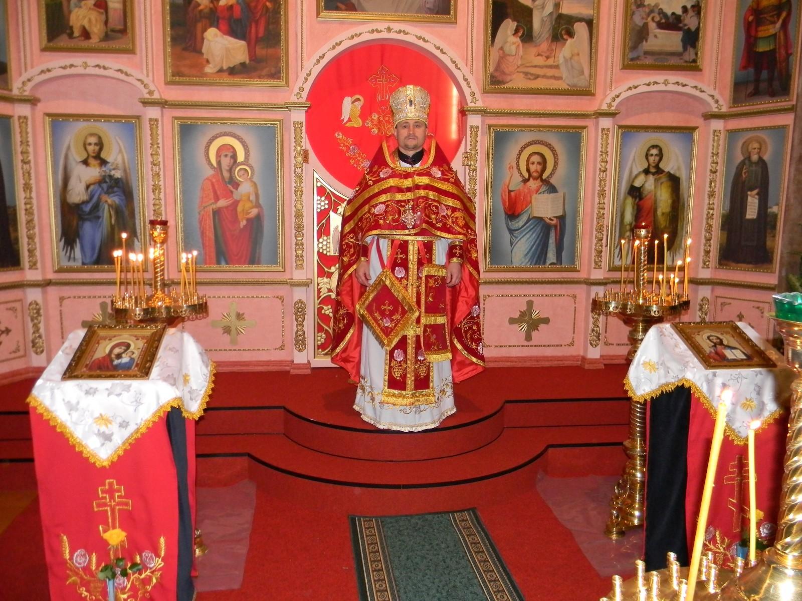 Arciprete Mitrofor Veniamin Onu, Parocco della chiesa ortodossa «SS.Trinita» a Fidenza, Italia